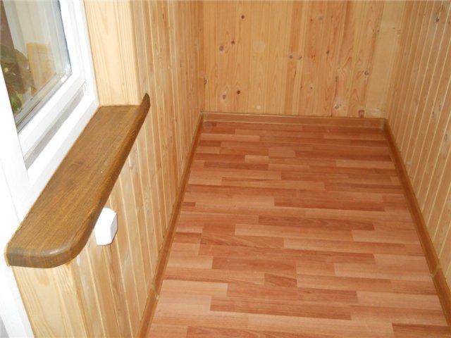 Ламинат на лоджии: порог на балкон из ламината, укладка, мож.