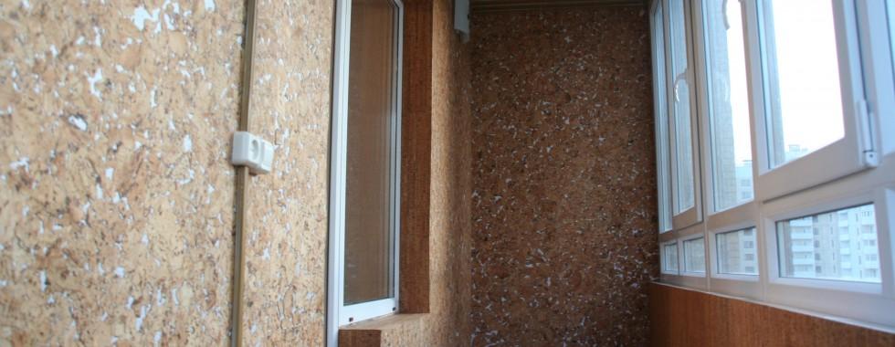 балкон с пробкой