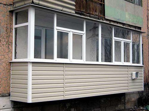 Балконы — выносные конструкции
