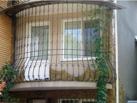 балконные решетки и ограждения