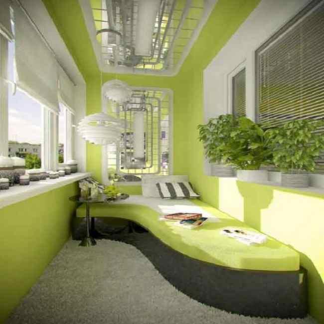 Дизайн балкона с диваном фото. - остекление - каталог статей.