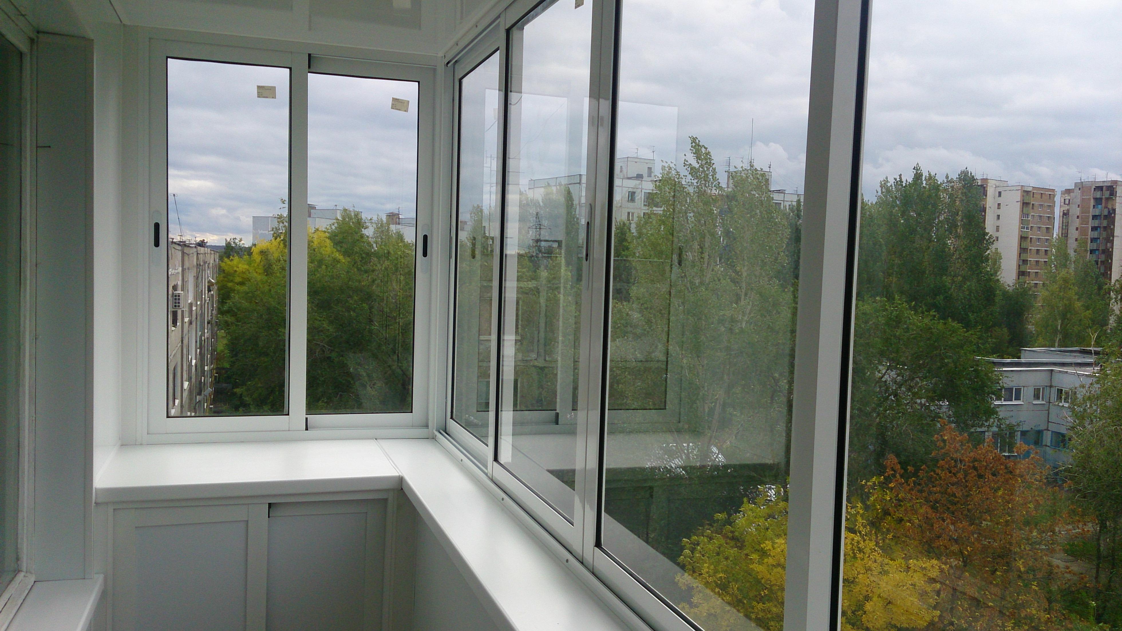 Остекление балконов provedal (проведал): преимущества.