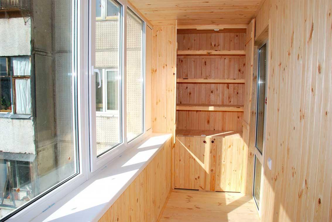 Вагонка для отделки балкона цена материала.