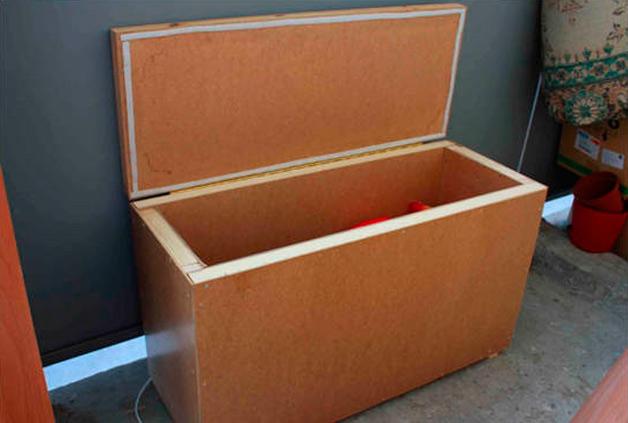 Как сделать ящик для картошки