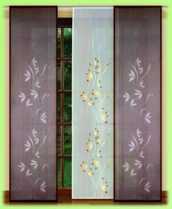 шторы в японском стиле