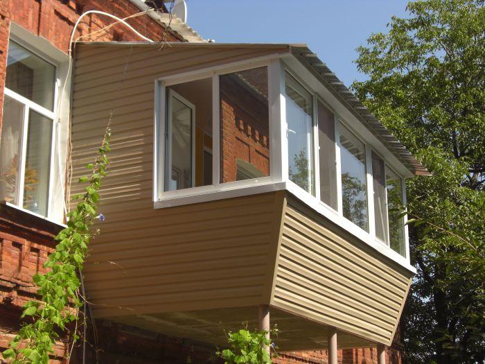 крыша балкона