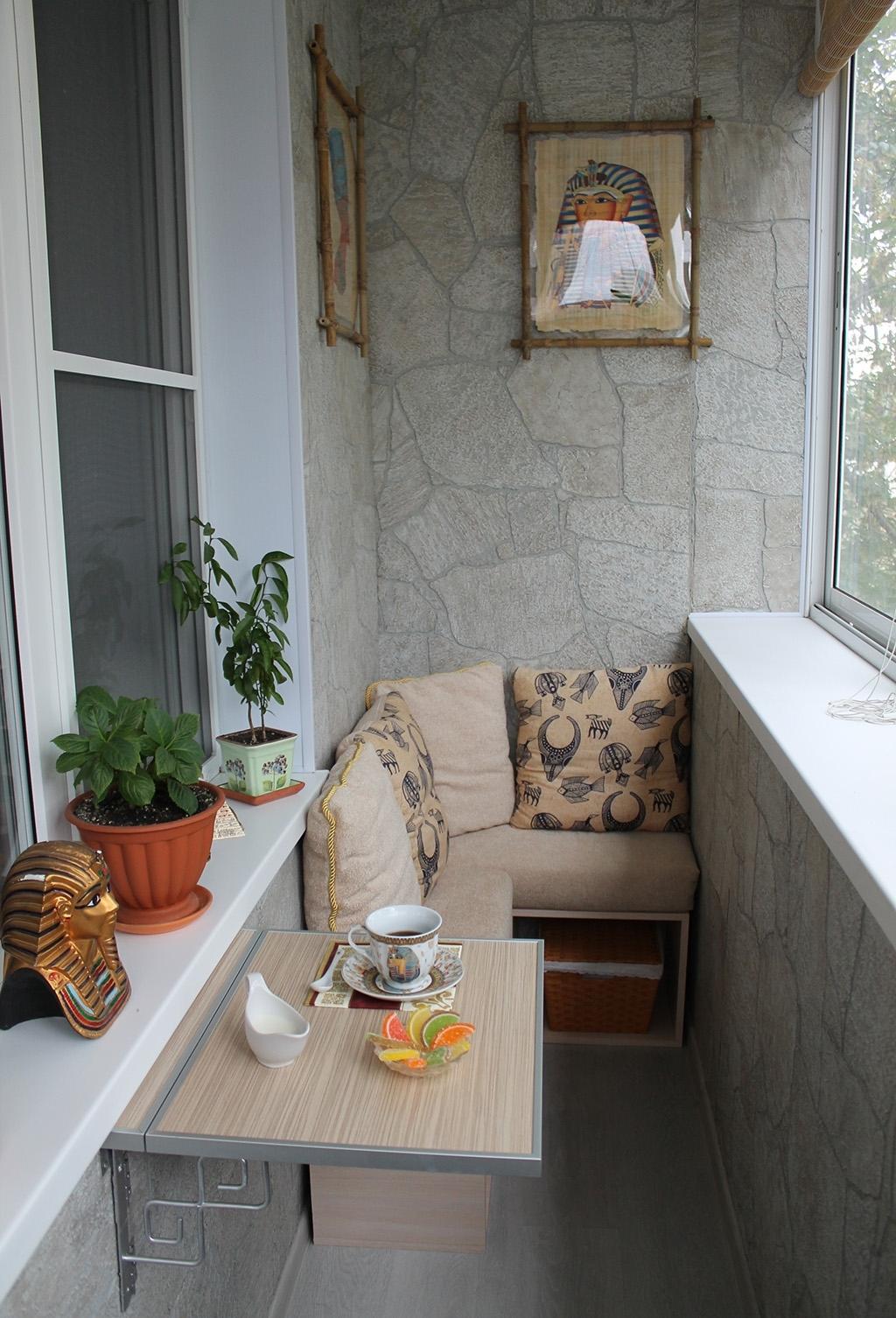 Балкон в хрущевке: дизайн.