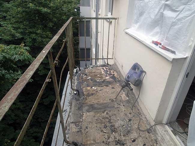 Утепление балконов с металлическими ограждени ями..