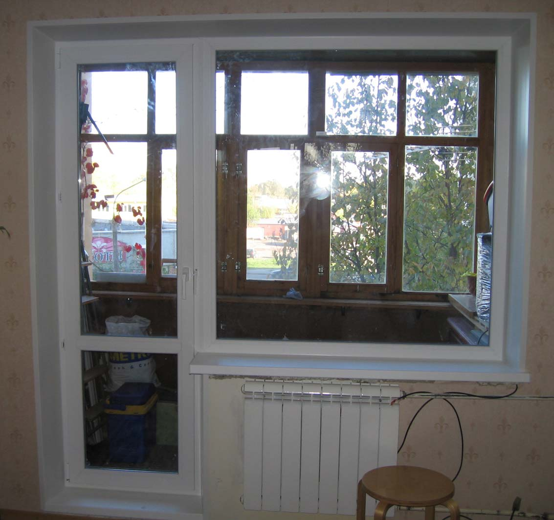 Ремонт балконной двери от а до Я.