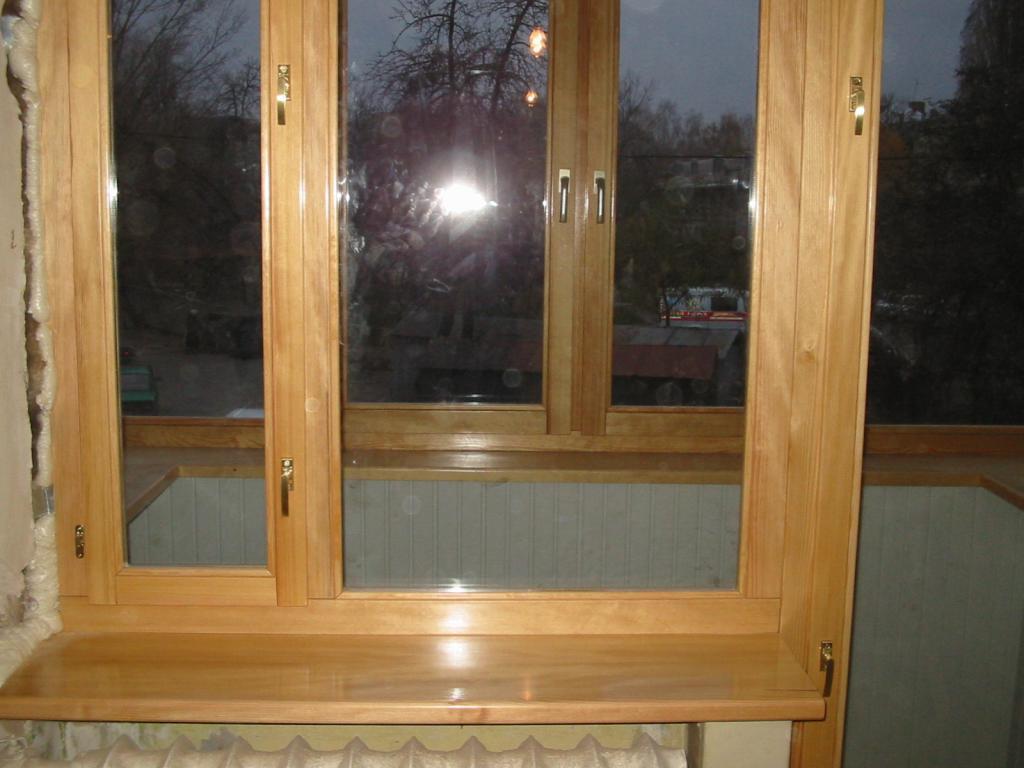 Балконные рамы из дерева в салавате , бесплатное хранилище ф.