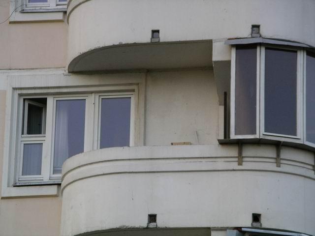 Варианты отделки балконов в доме серии п3м.