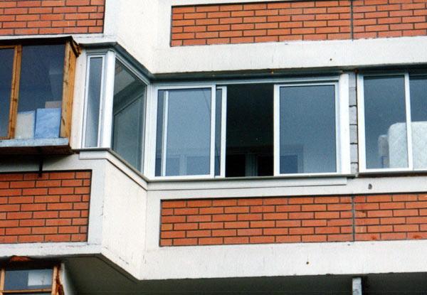 Застеклить балкон в зеленограде серия п 44.